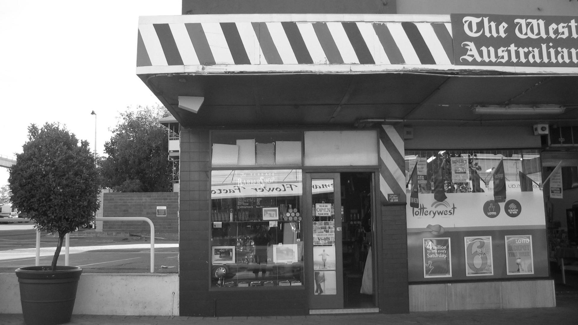 Kennedy's Barbershop Original Shop Front